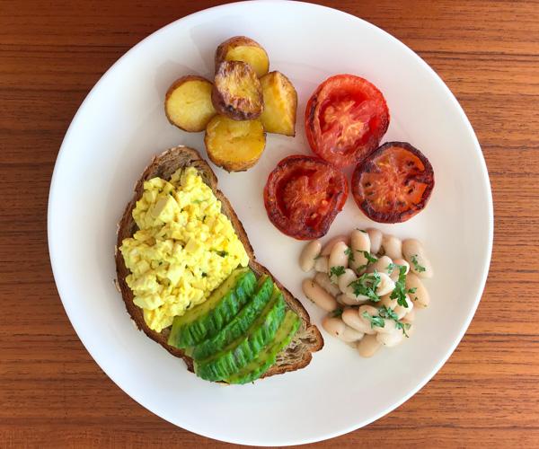 Melia Ho Tram Vegan Breakfast