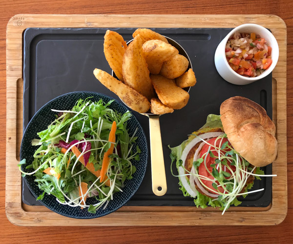 Melia Ho Tram Vegan Burger