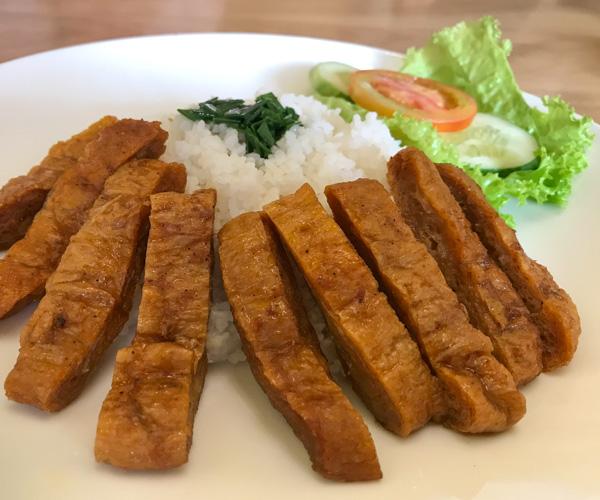 Sala Quan Chay vegan ribs