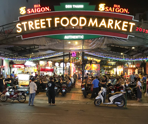 Street Food Market Saigon