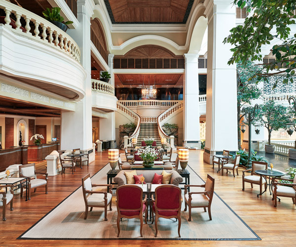 Grand Hyatt Erawan Bangkok Lobby