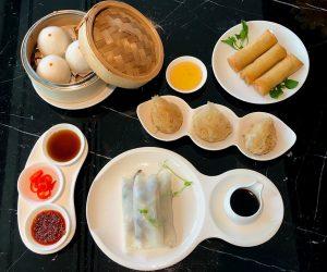 JW Marriott Bangkok Man Ho Vegan Appetisers