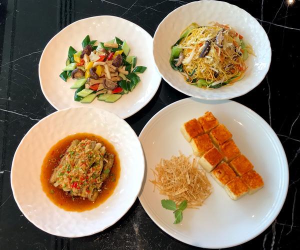 JW Marriott Bangkok vegan mains