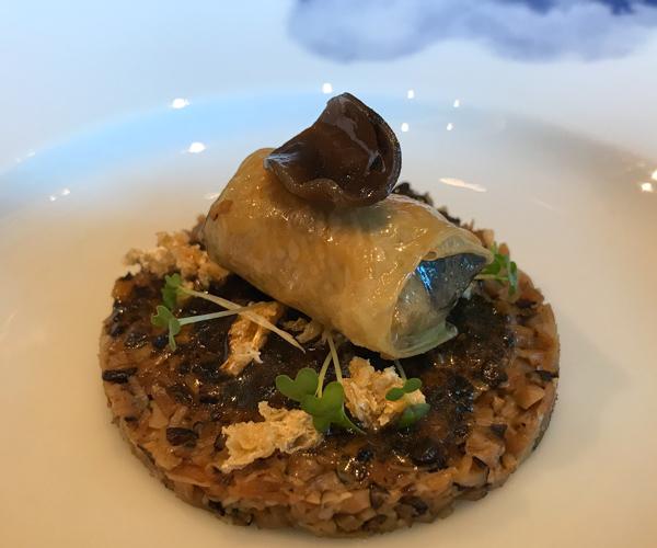 Peninsula Mei Jiang vegan truffle