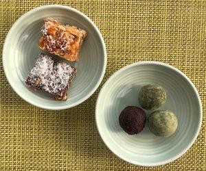 Peninsula vegan breakfast energy balls