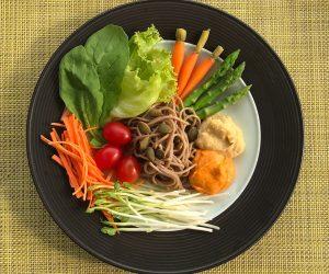 Peninsula vegan breakfast salad