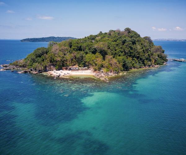 Six Senses Krabey Island Aerial View 1