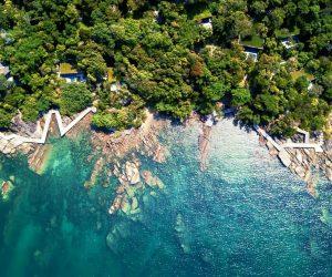 Six Senses Krabey Island Aerial View 2