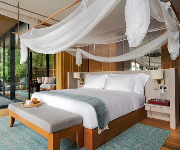 Six Senses Krabey Island Ocean Pool Villa Bedroom