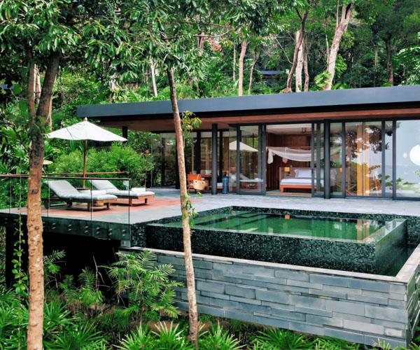 Six Senses Krabey Island Ocean Pool Villa Suite