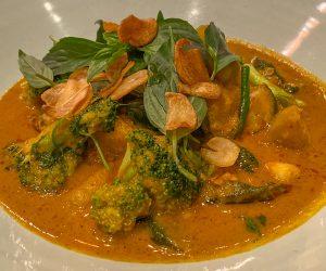 Six Senses Krabey Island vegan curry
