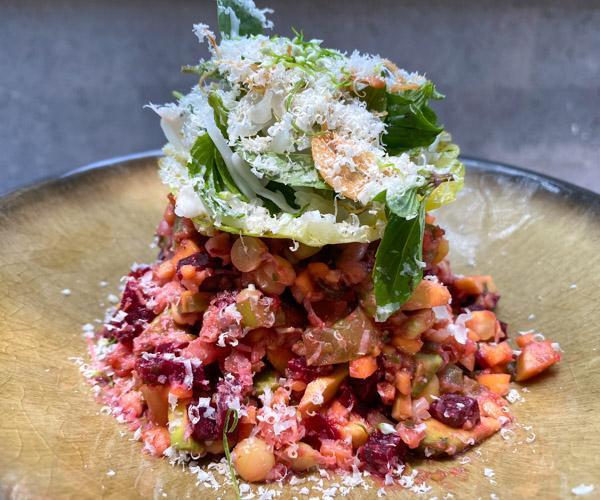 Six Senses Krabey Island vegan lunch 1