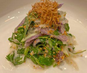 Six Senses Krabey Island vegan salad
