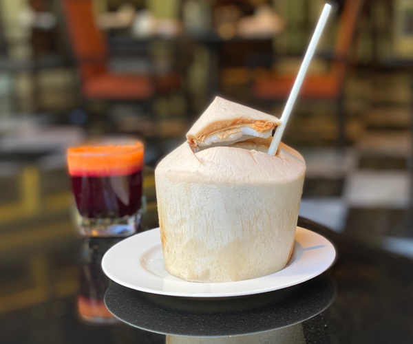 The Athenee Bangkok Fresh Coconut