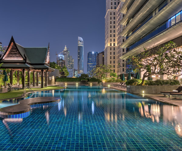 The Athenee Bangkok Swimming Pool 1