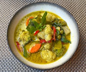 The Athenee Bangkok Vegan Breakfast Green Curry 2