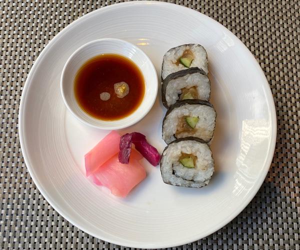 The Athenee Bangkok Vegan Sushi 1