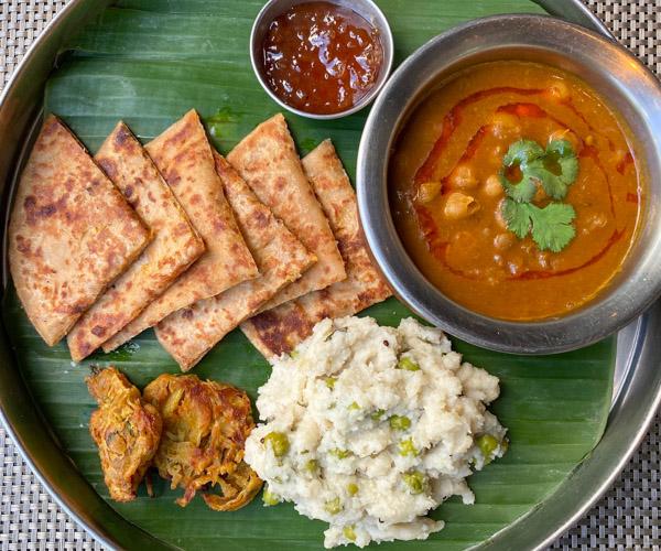 The Athenee Bangkok Vegan Thali