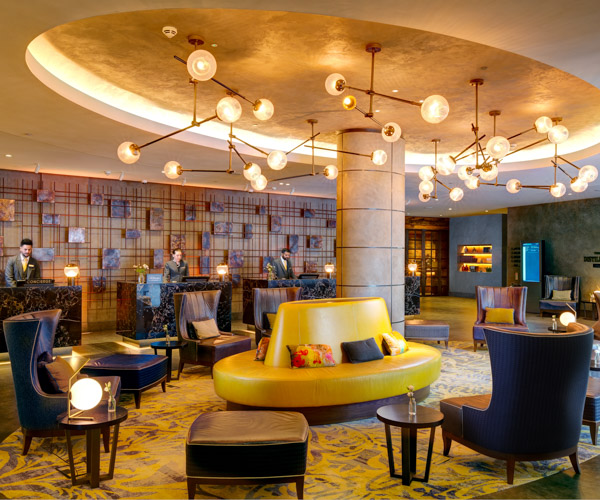 Hilton Bankside - Lobby