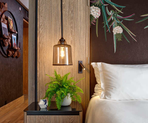 Hilton Bankside - Vegan Suite Bedroom