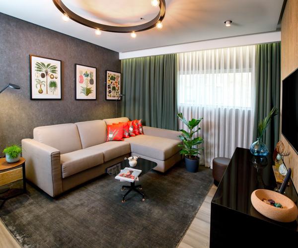Hilton Bankside - Vegan Suite Living Room