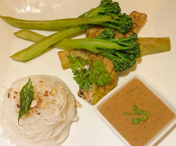 Le Relais de Chhlong vegan food 1