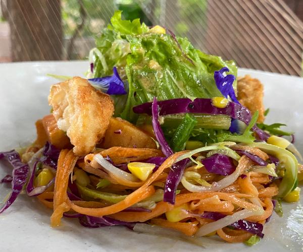 Templation vegan house salad