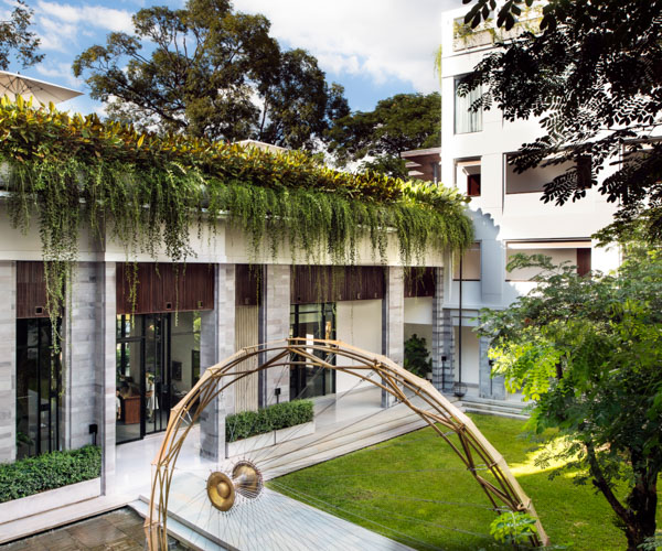 Treeline Courtyard 2