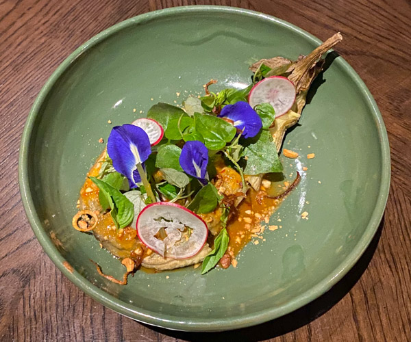 Park Hyatt Siem Reap Roasted Eggplant