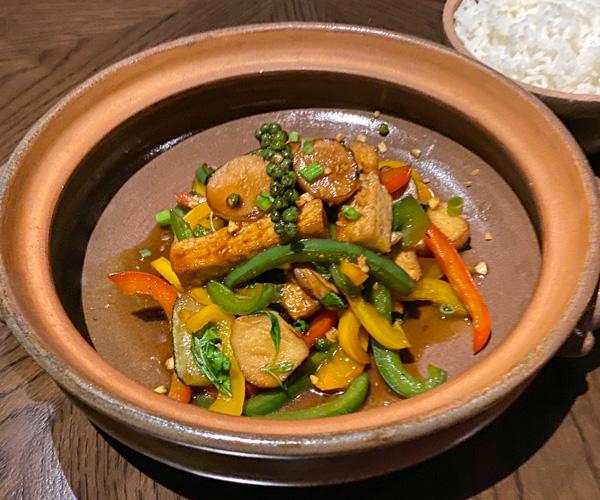 Park Hyatt Siem Reap Wok Fried Tofu
