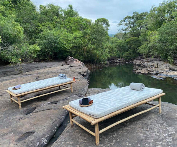 Massage Beds at Shinta Mani Wild_