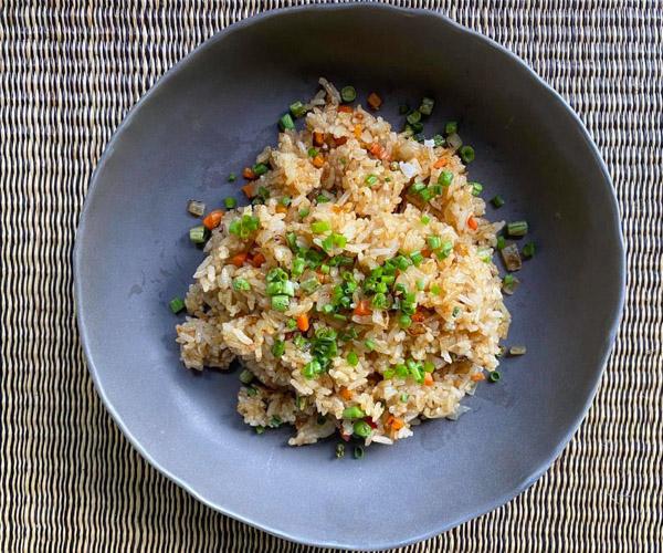 Vegan Fried Rice at Shinta Mani Wild