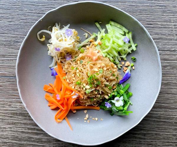 Trio of Vegan Dishes at Shinta Mani Wild