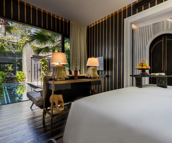 Bensley Collection Siem Reap - Pool Villa Bedroom