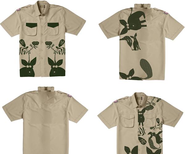 Bensley Safari Shirts - beige