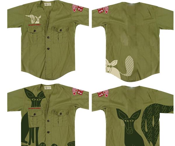 Bensley Safari Shirts - green