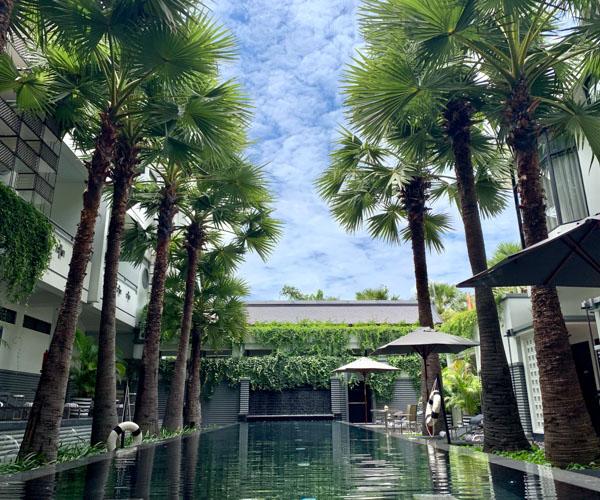 Shinta Mani Angkor lap pool