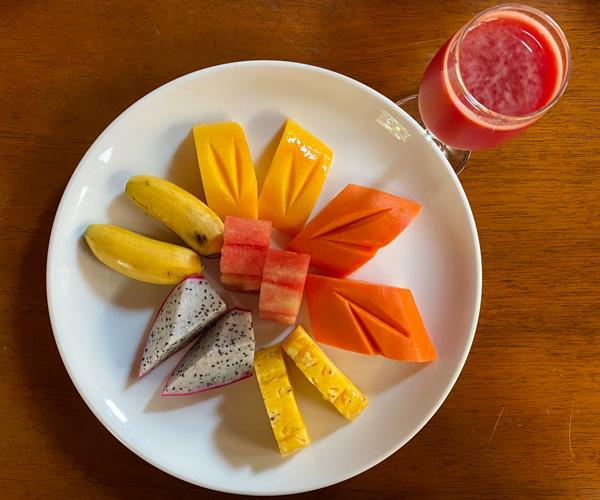 Anantara Angkor Vegan Breakfast