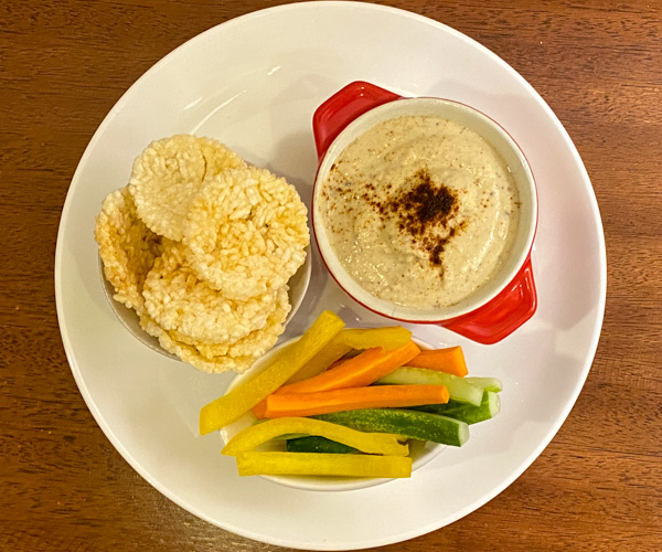 Anantara Angkor Vegan Hummus