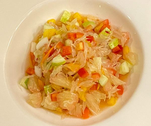 Anantara Angkor Vegan Pomleo Salad