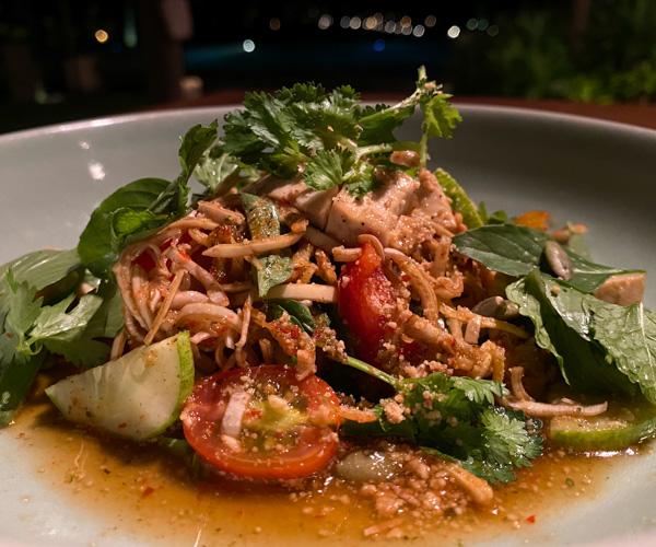 Phum Baitang banana flower salad