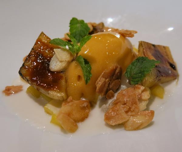 Hyatt Regency Phnom Penh vegan dessert