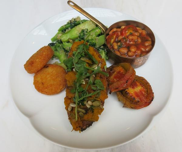Hyatt Regency Phnom Penh vegan full English breakfast