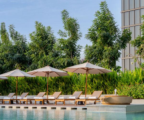 Hyatt Regency Phnom Penh Pool