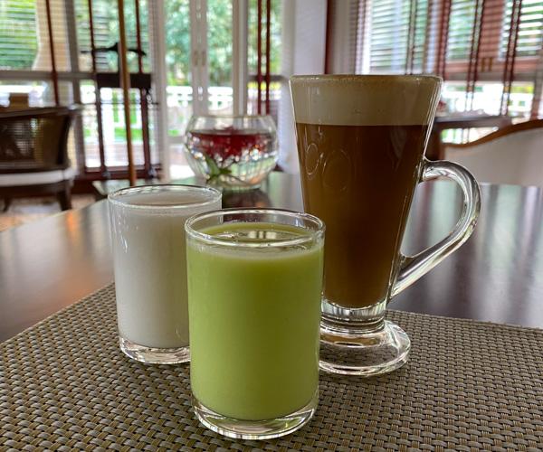 vegan breakfast at Sofitel Angkor