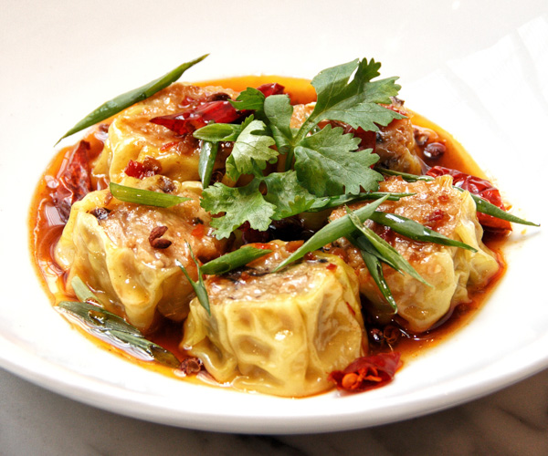 Beyond Meat and Mushroom Dumplings at Hyatt Regency Phnom Penh