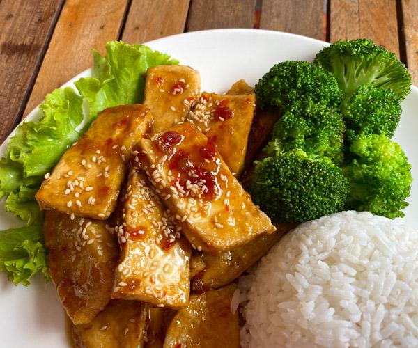 My Little Cafe General Tsao Tofu